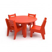 Set garden furniture for children