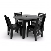 Set garden furniture - round